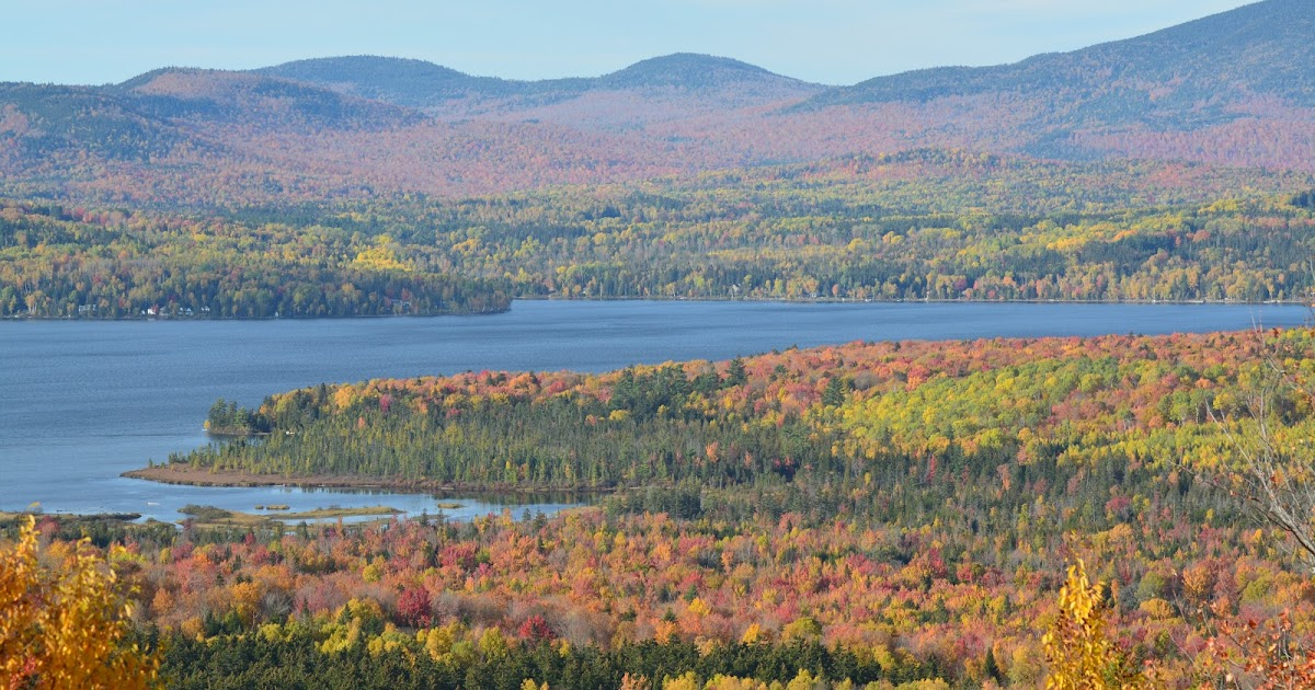 Amazing Fall Beauty in the Rangeley Lakes Region, Maine