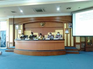 Wakil Bupati Batanghari H.Bakhtiar SP Gelar Rapat Koordinasi Persiapan Pemilihan Kepala Desa