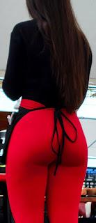 Linda mesera leggins entallados