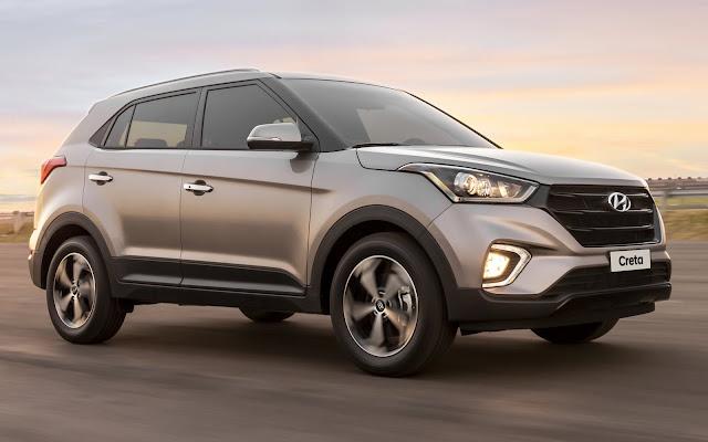 Hyundai Creta 2020 - 5º carro mais vendido do Brasil