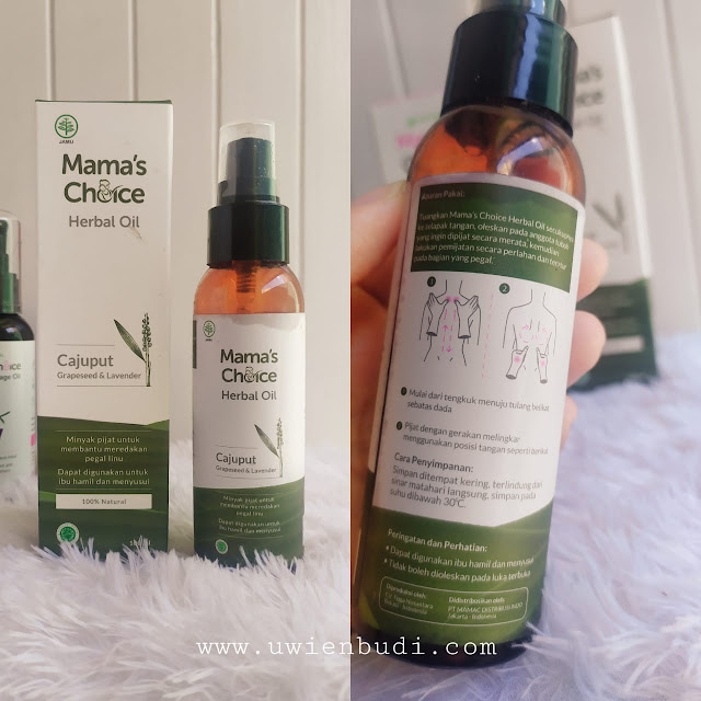 mamas choice herbal oil