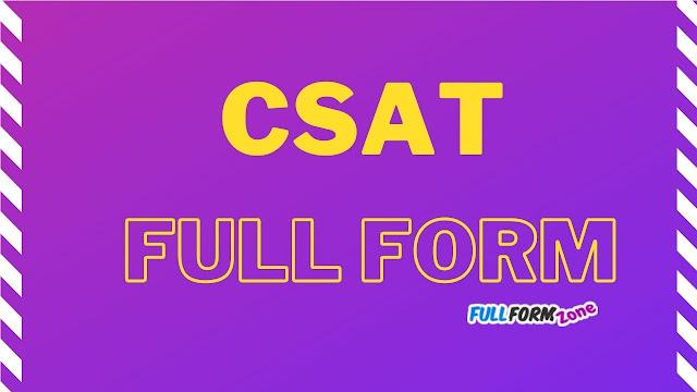 CSAT Full Form