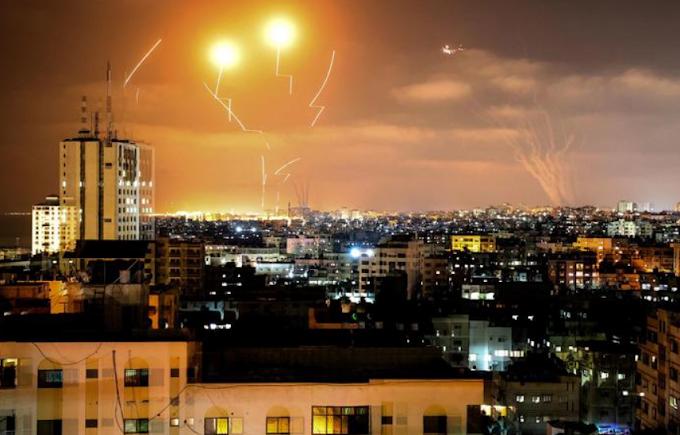 """Israele: """"Lanciati 250 razzi da Gaza"""""""