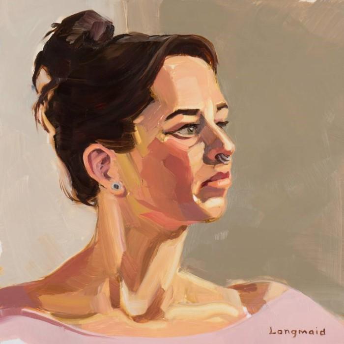 Американский художник. Kate Longmaid 33