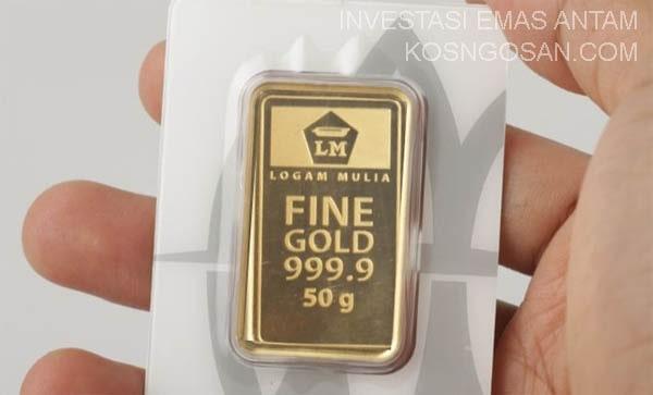 keuntungan kerugian emas antam