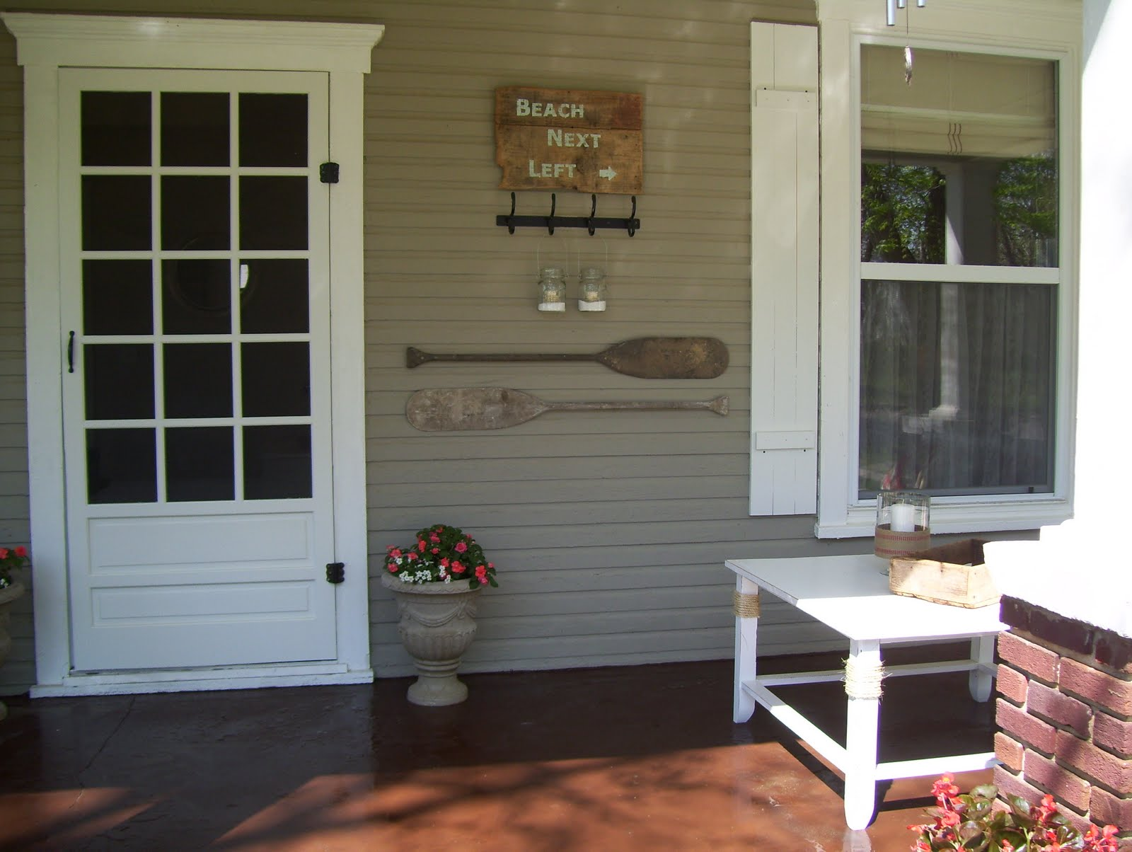 Vintage Home Love Front And Side Porch Redo