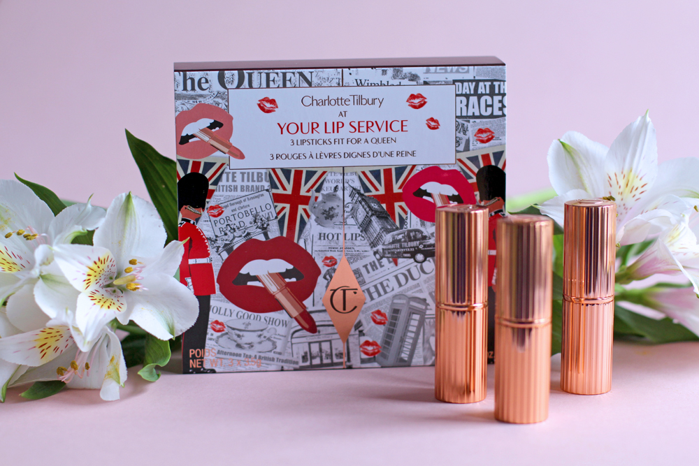 Charlotte Tilbury Your Lip Service, lipsticks fit for  a queen - UK beauty blog