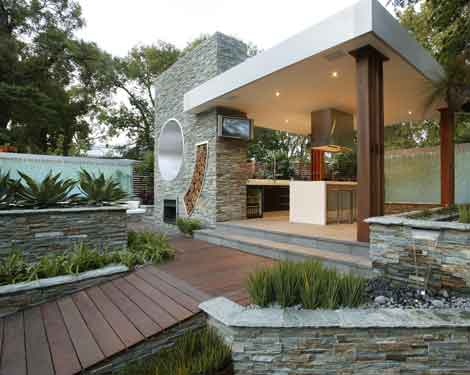 Kitchen Design Gallery: Outdoor kitchen design