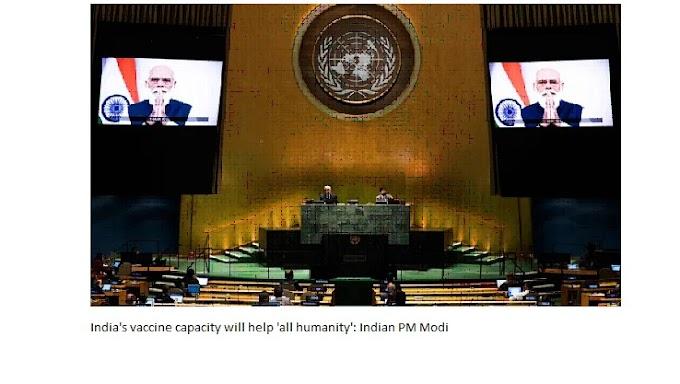 """Индиянын вакцина кубаттуулугу """"бүткүл адамзатка"""" жардам берет: Индиянын премьер-министри Моди"""