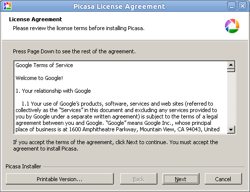 Lisence Agreement