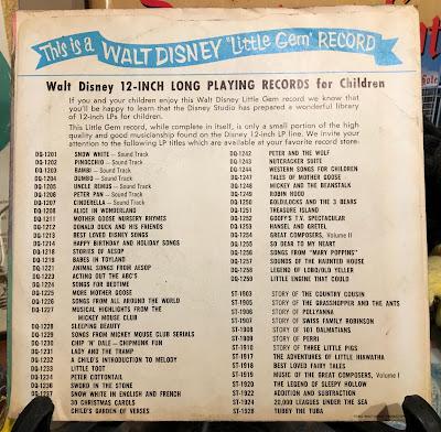 A Disneyland Record, 1962