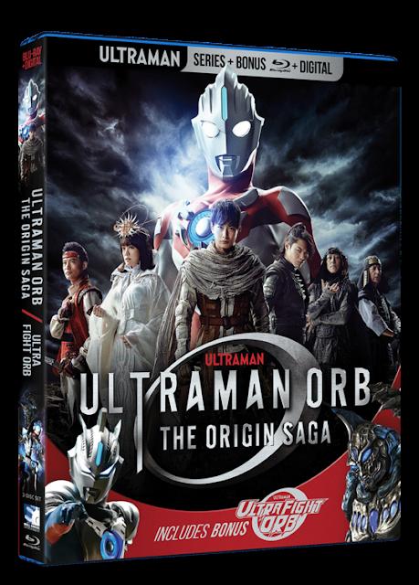 Blu-ray Review - Ultraman Orb: The Origin Saga / Ultra Fight Orb