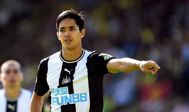 Yoshinori Muto interesting Eibar, as he faces not being given a squad number