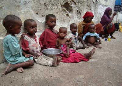 Every Minute, 11 People Die of Hunger
