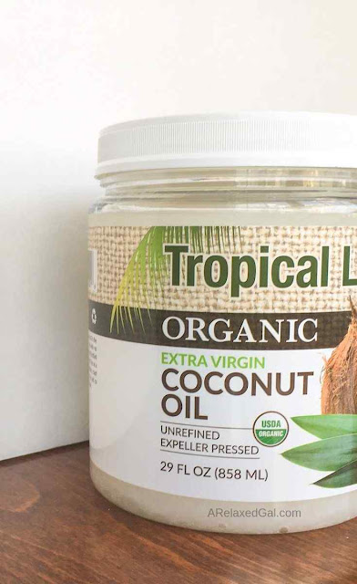 Multiple ways to use coconut oil on relaxed hair | A Relaxed Gal