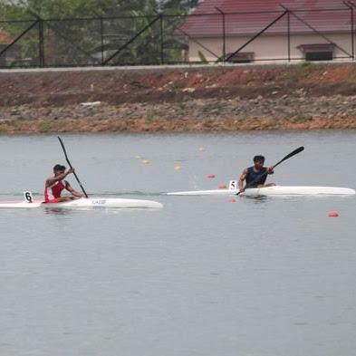 Tak Hanya Kano Kayak dan Rowing, Cabor Canoe Slalom Juga Diperkenalkan JSC