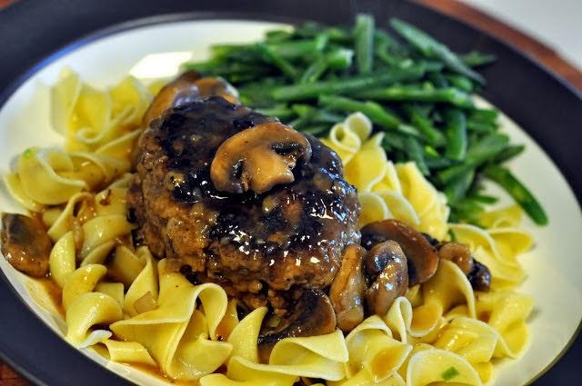 Salisbury Steak with Mushrooms   Get the recipe on Taste As You Go!