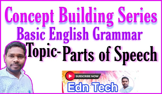Do you know about the parts of speech of English in basic English Grammar ?