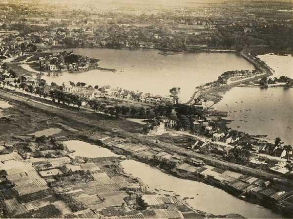 Hà Nội xưa Hồ Tây thời hoang sơ