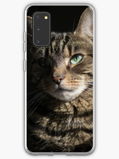 cat-themed Samsung Galaxy case