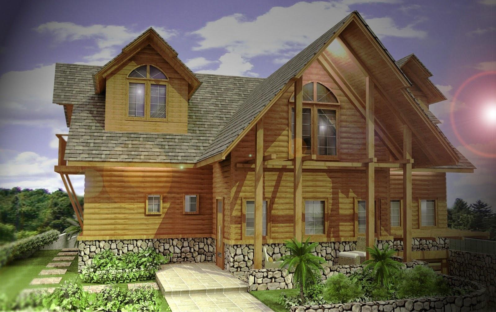 70 Desain Rumah Minimalis Di Pegunungan Desain Rumah
