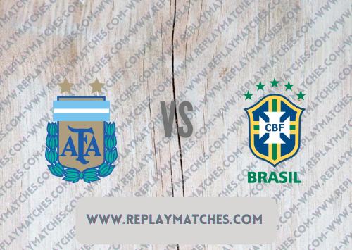 Argentina vs Brazil -Highlights 11 July 2021