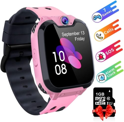 Review Moweallarge HD Touch Screen Kids Smart Watch