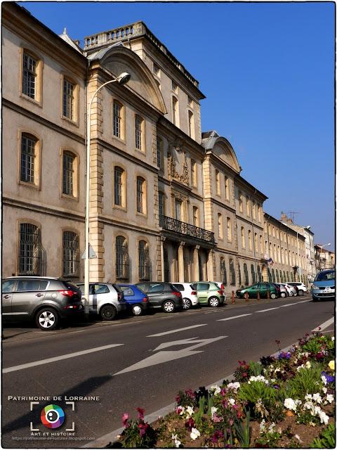 NANCY (54) - Hôtel des Missions Royales (1741-1743)
