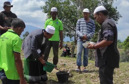 Pembangunan Panti Rehabilitasi NAPZA Berbasis Dayah Yayasan Pintu Hijrah Mulai Dikerjakan