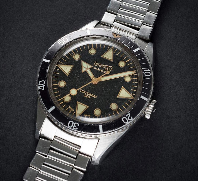 A vintage Eberhard Scafograf 200 from 1961