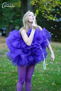 Easy Halloween Costume Ideas Shower Pouf