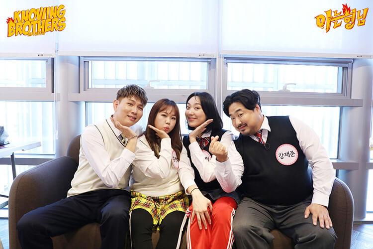 Nonton streaming online & download Knowing Bros eps 254 bintang tamu Hong Hyun-hee, Kang Jae-joon, Lee Eun-young, & Jason subtitle bahasa Indonesia