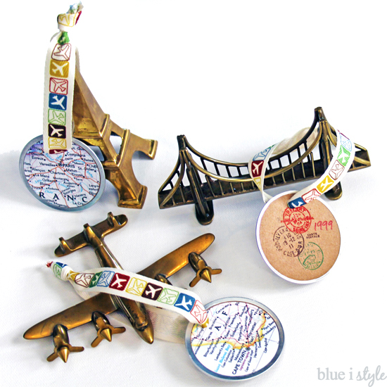 Seaonal Style Travel Map Christmas Ornaments More Than Other - Create my travel map