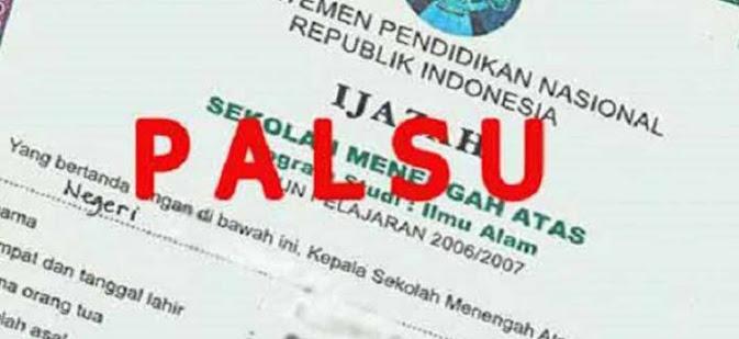 kasus ijazah palsu calon kades di merangin batal dilantik