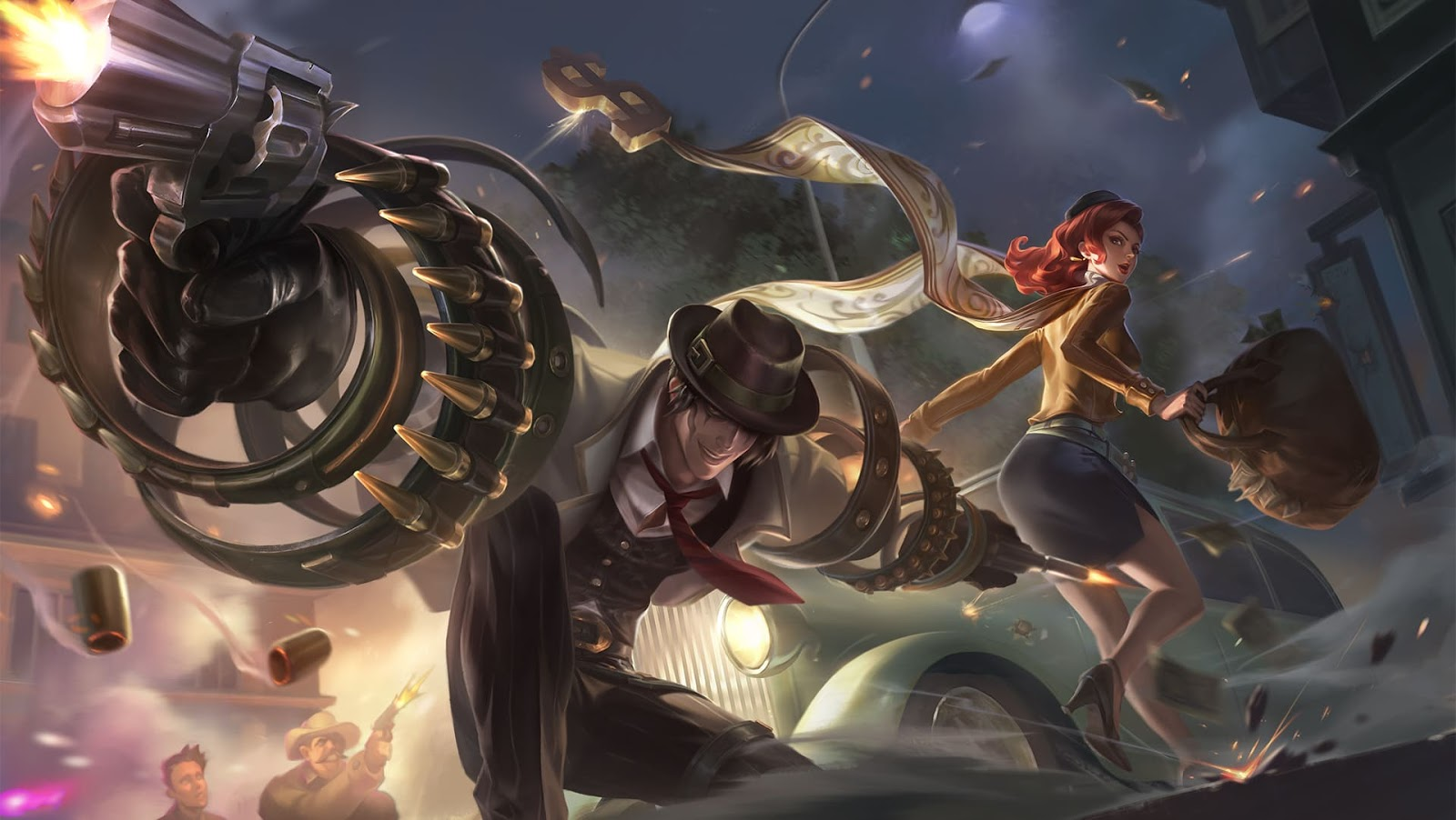 Wallpaper Khufra Gentleman Thief Skin Mobile Legends HD for PC