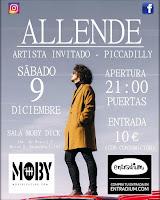 Allende y Piccadilly en Moby Dick Club