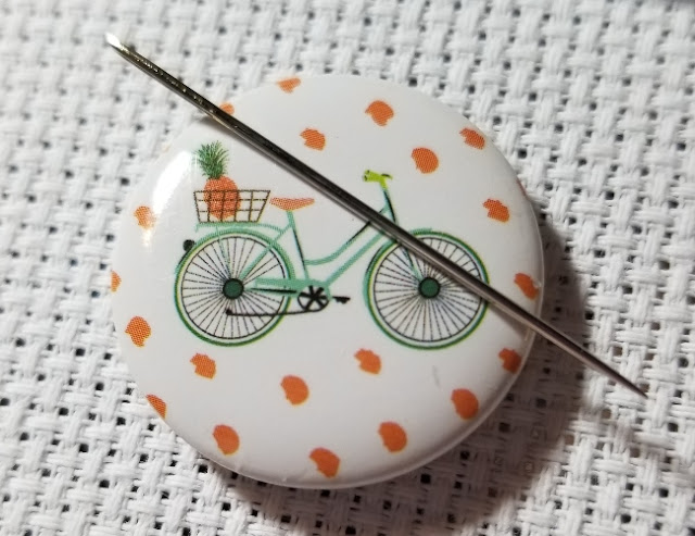 How to Use a Needle Minder for Cross Stitch