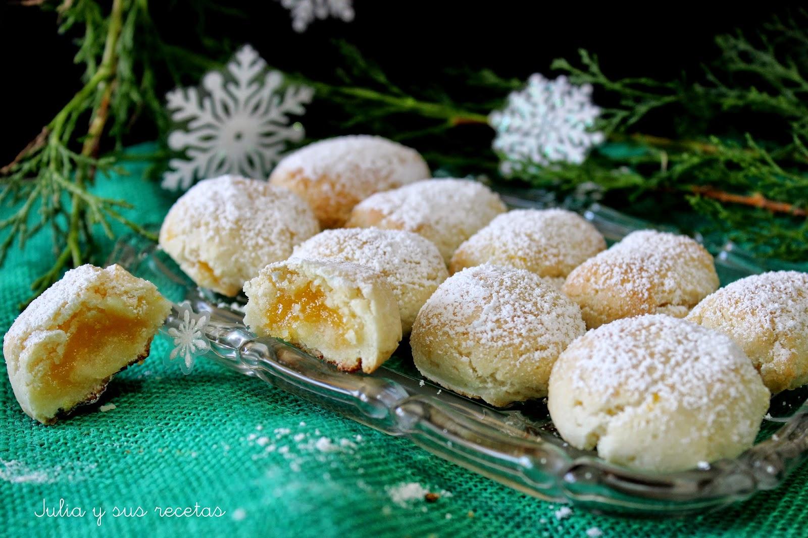 Glorias de Navidad. Julia y sus recetas