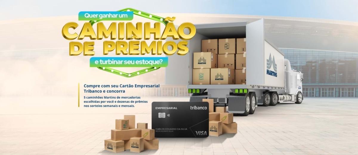Promoção Cartão Tribanco 2021 Caminhão de Prêmios │ VISA