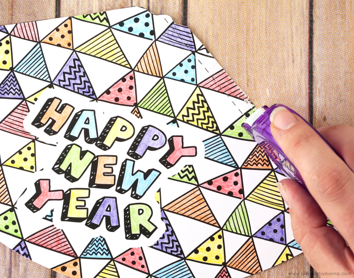 Free Printable New Year's Eve Party Hats