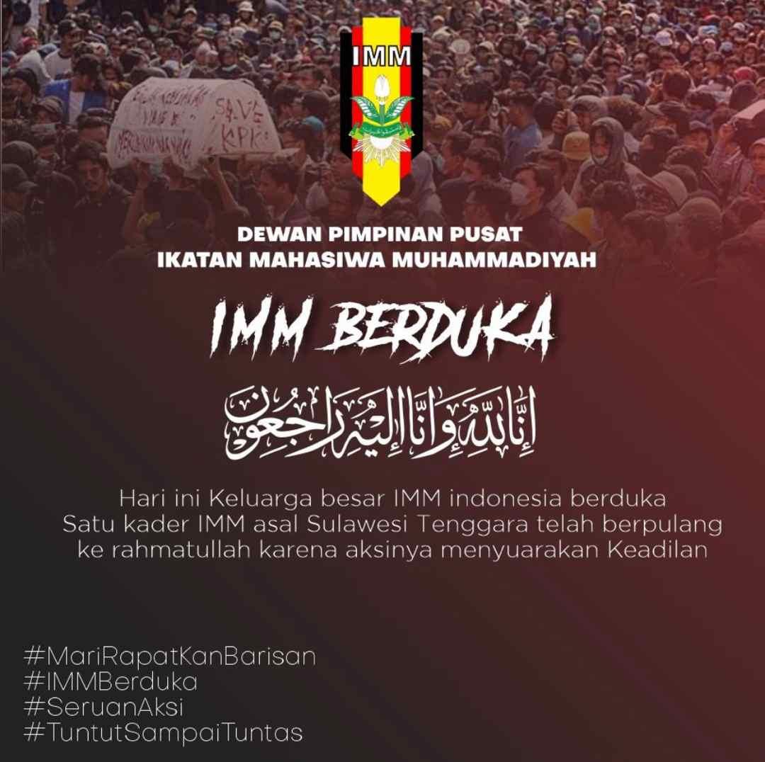 Mahasiswa Muhammadiyah Gugur Saat Aksi, Din Syamsuddin: Usut Tuntas!