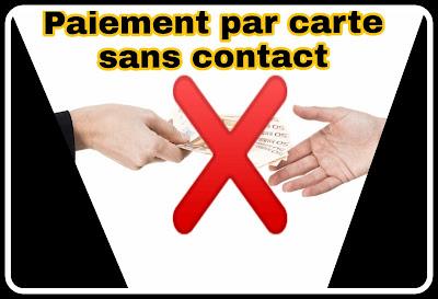 Paiement sans contact dans les pays européens surtout en France en cette période de crise sanitaire COVID-19