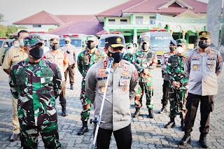 TNI-Polri Kerahkan Fasilitas, Terapkan Managemen Kontijensi  Penanganan Covid-19 di Kudus