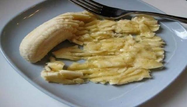 Λιώνει μια μπανάνα