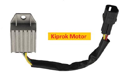 Kiprok atau regulator adalah komponen pada sepeda motor yang berperan penting dalam hal s Fungsi Kiprok Motor dan Tanda Kiprok Rusak (Lemah)