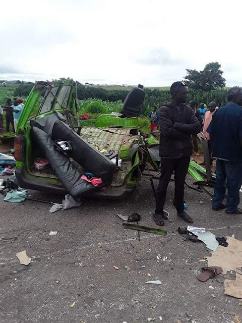 Graphic Photos: Bride-to-be dies in accident along Abuja-Akwanga Road 10 days after raising alarm over havoc caused by trucks