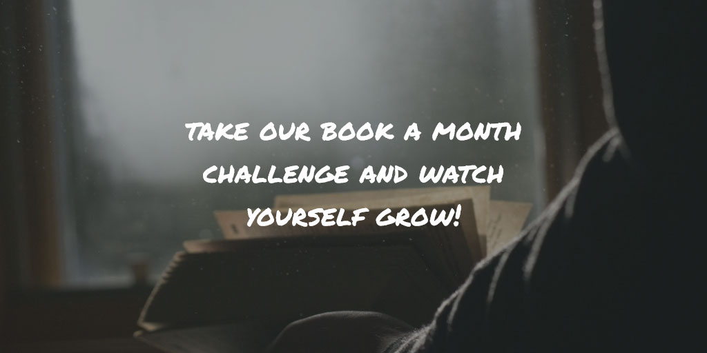 take our personal development reading challenge and watch yourself grow