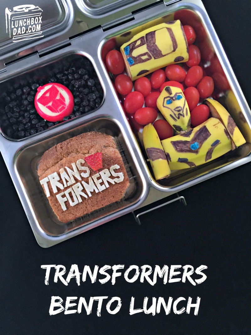 lunchbox dad transformers bumblebee bento lunch. Black Bedroom Furniture Sets. Home Design Ideas