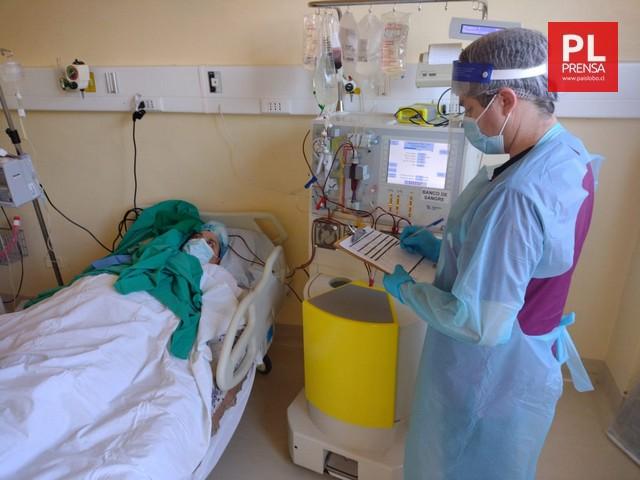 Sala de procedimiento de aféresis