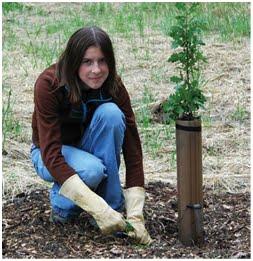 NAMC montessori upper elementary practical life outdoor activities planting a sapling